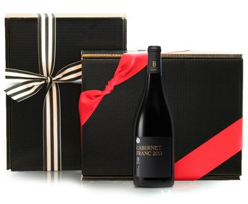 THREE BOTTLE BLACK BOX
